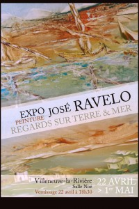 affiche exposition Jose Ravelo